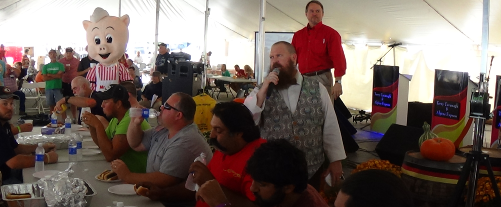 The Hot Dog Eating Contest, Oktoberfest 2013